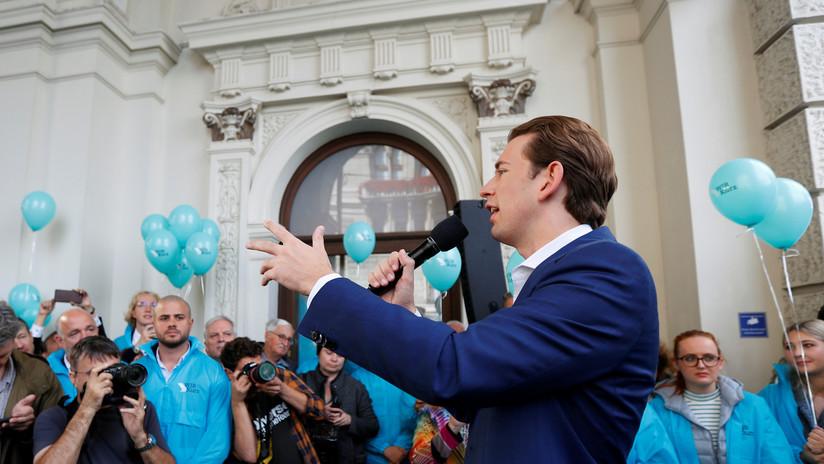 Parlamentarias en Austria: proyectan una holgada victoria para el canciller destituido Kurz