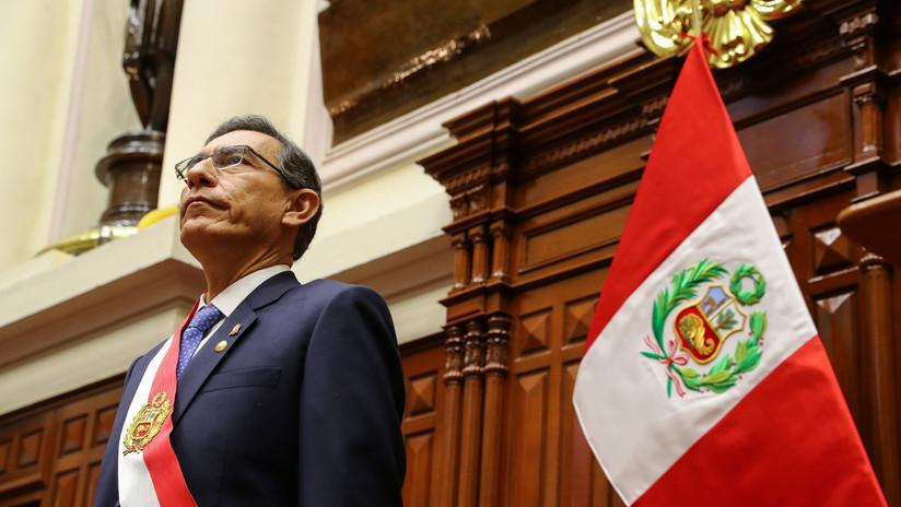 """Martín Vizcarra: """"Yo declararía disuelto el Congreso si deniegan la cuestión de confianza"""""""