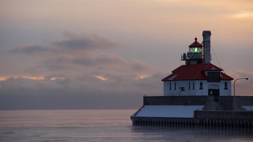 Localizan en un lago de EE.UU. un 'buque fantasma' hundido hace 118 años