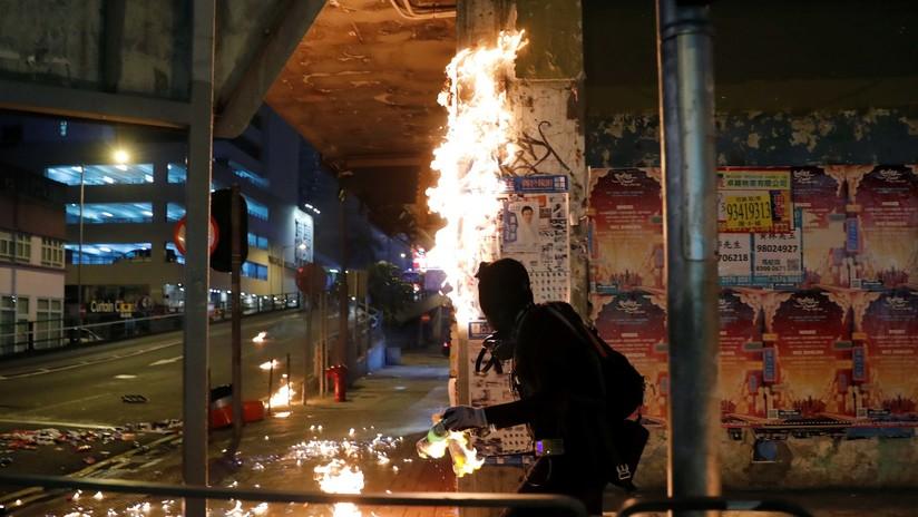 Hong Kong se rebela contra el Gobierno de Pekín: las masivas protestas, en fotos