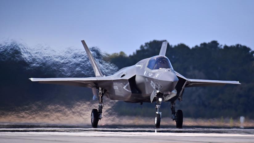 ¿Y encima no es sigiloso?: un radar alemán localiza a dos cazas 'furtivos' F-35 de EE.UU.