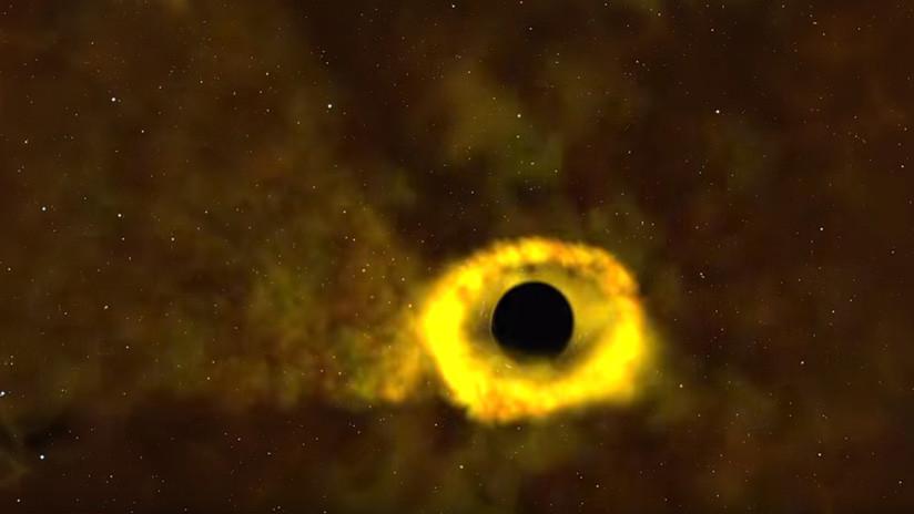 Telescopio de la NASA capta una estrella del tamaño de nuestro sol al ser 'devorada' por un agujero negro (VIDEO)