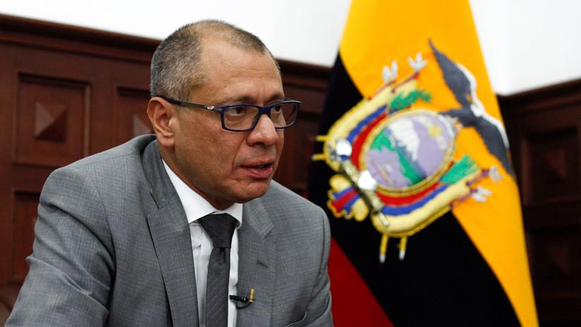 Corte Nacional de Ecuador suspende audiencia sobre recurso de casación a Jorge Glas