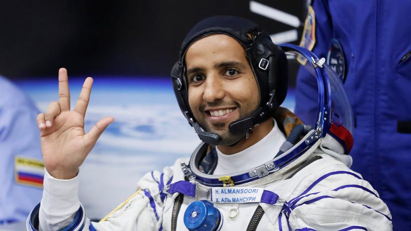 El primer astronauta emiratí cuenta que su cabeza creció al experimentar la microgravedad en la EEI