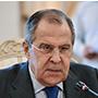 Serguéi Lavrov, ministro de Relaciones Exteriores de Rusia