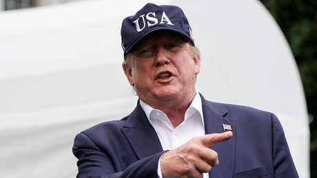 El presidente de EE.UU., Donald Trump.