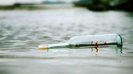 large discount delicate colors store Hallan un mensaje en una botella que había sido arrojada en ...