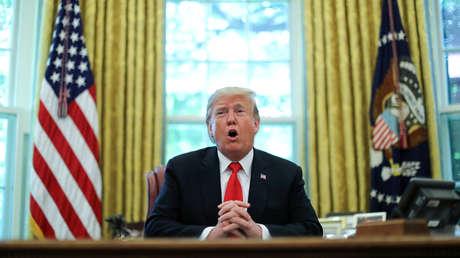 Donald Trump en la Casa Blanca, el 4 de septiembre de 2019.