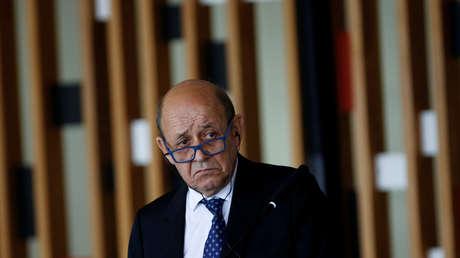 El ministro de Asuntos Exteriores francés, Jean-Yves Le Drian