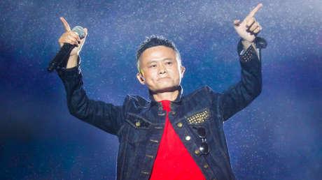 El cofundador del Grupo Alibaba, Jack Ma