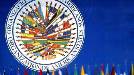 Logo de la Organización de Estados Americanos (OEA).