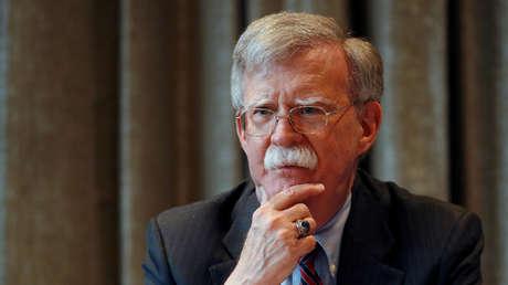 El ya exasesor de Seguridad Nacional de EE.UU., John Bolton, en Londres, Reino Unido, el 12 de agosto de 2019.
