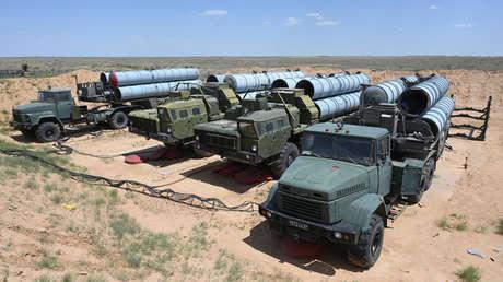 Imagen ilustrativa / Misiles S-300 rusos.