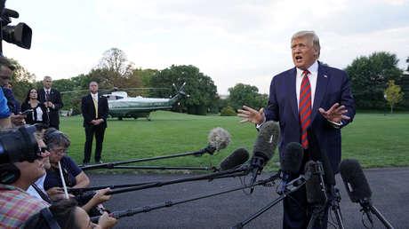 El presidente estadounidense, Donald Trump, en Washington el 12 de septiembre de 2019.