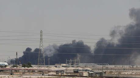 Las instalaciones de Aramco en la ciudad de Abqaiq, Arabia Saudita, 14 de septiembre de 2019.