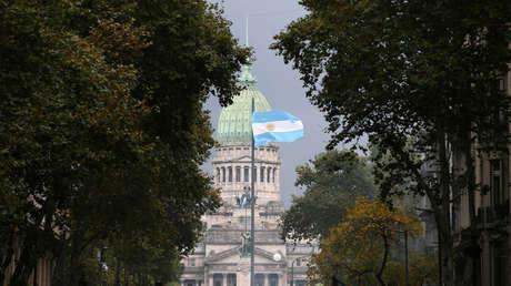 El Congreso Nacional de Argentina en Buenos Aires, 4 de abril de 2019.