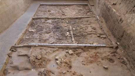El yacimiento paleolítico Jotyliovo-2, Rusia.