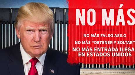 """Trump tuitea en español para arremeter contra los migrantes: """"no ..."""