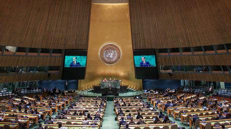 Asamblea General de Naciones Unidas. Nueva York, EE.UU. 28 de septiembre de 2018.