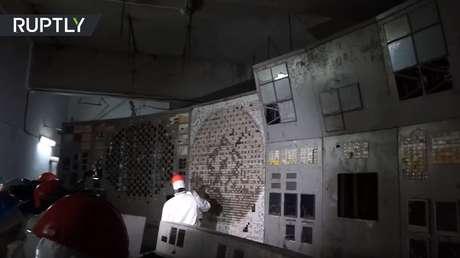 VIDEO: Una mirada dentro de la sala de control del reactor 4 de Chernóbil, cuya explosión provocó la catástrofe