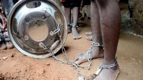 VIDEO, FOTOS: Rescatan a cientos de niños encadenados, torturados y víctimas de abusos sexuales de un supuesto reformatorio islámico en Nigeria