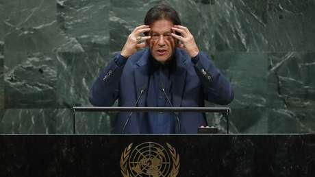 El primer ministro de Pakistán, Imran Khan