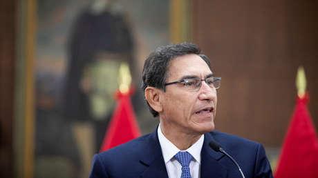 El presidente de Perú, Martin Vizcarra, Lima, 27 de septiembre de 2019.
