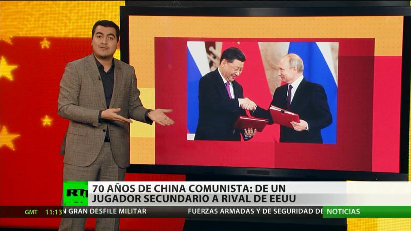 70 años de China comunista: De un jugador secundario a rival de EE.UU.