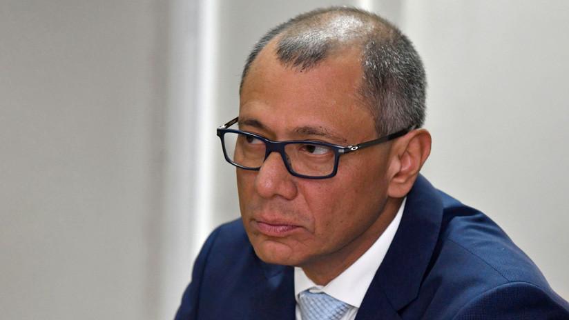 Piden declarar nula la sentencia contra exvicepresidente ecuatoriano Jorge Glas por violación al debido proceso