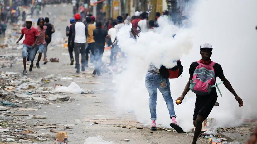 Así se viven las violentas protestas antigubernamentales que sacuden la capital de Haití