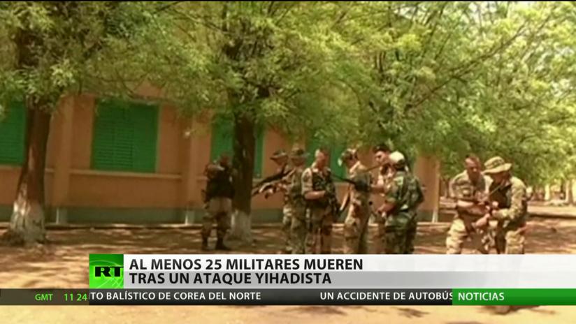 Malí: Al menos 25 militares mueren tras un ataque yihadista
