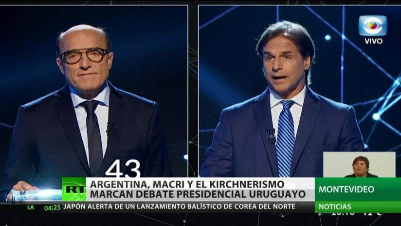 Uruguay: Argentina, Macri y el kirchnerismo marcan el primer debate presidencial en 25 años