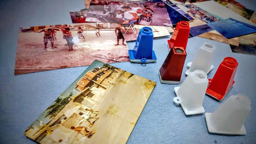 La historia de un gigantesco complejo de favelas de Brasil en un museo itinerante del tamaño de una caja de zapatos