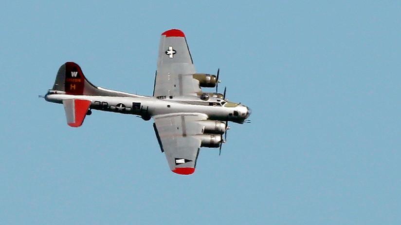 Un avión de la Segunda Guerra Mundial se estrella en un aeropuerto de EE.UU.