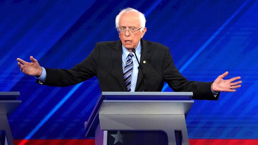 Bernie Sanders suspende campaña tras ser hospitalizado