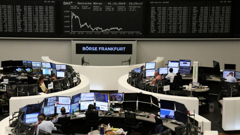 Las principales bolsas europeas cierran con una fuerte caída del 3 %