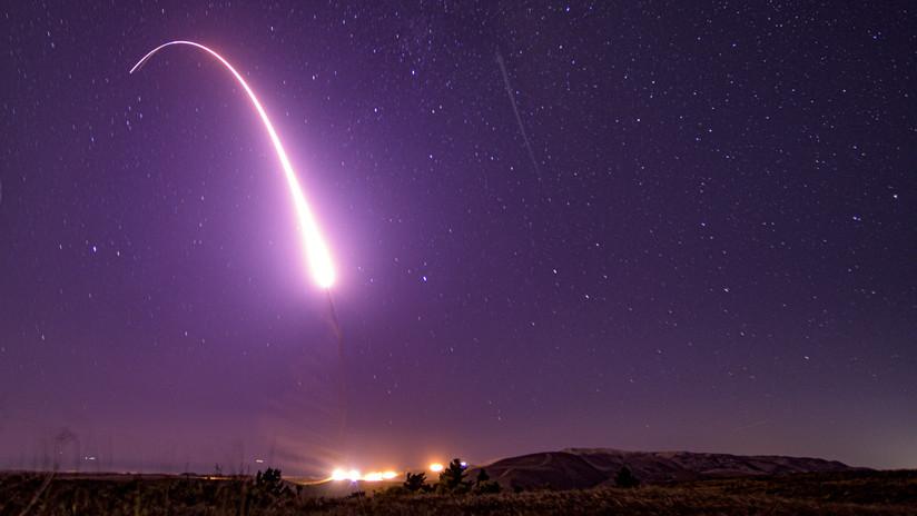 VIDEO: EE.UU. lanza un misil balístico intercontinental Minuteman III