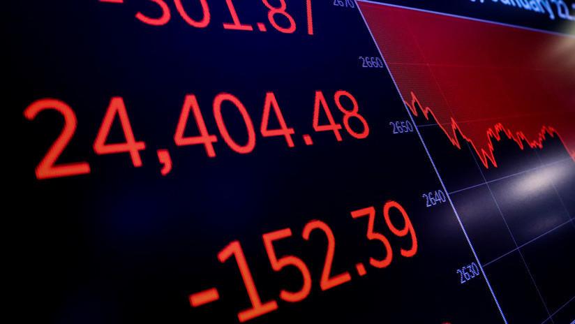 El Dow Jones cae más de 500 puntos en medio de la preocupación por la desaceleración económica mundial