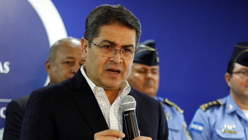 Fiscal dice que presidente de Honduras recibió dinero de narcos