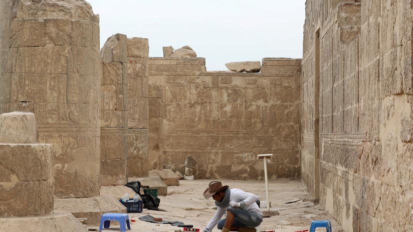 FOTOS: Encuentran en Egipto las ruinas de un templo del faraón Ptolomeo IV de hace 2.200 años