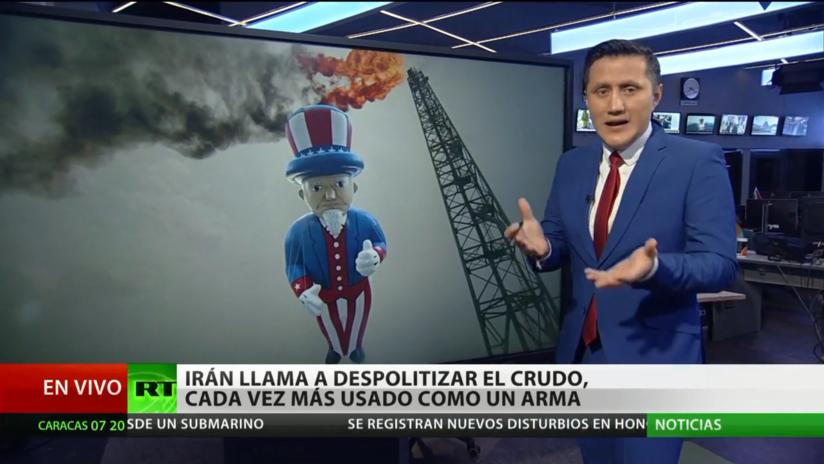 Irán llama a despolitizar el petróleo, usado cada vez más como un arma