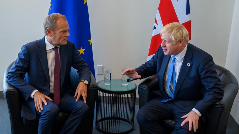 Tusk: El plan de Boris Johnson para el Brexit no convence a la UE