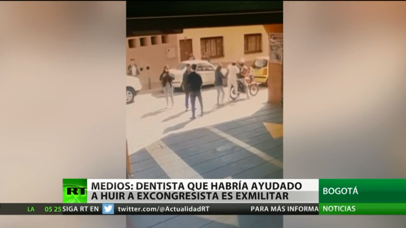 Medios: El dentista que habría ayudado a escapar a excongresista es un militar retirado