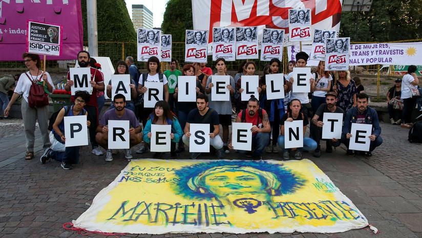 Detienen a dos familiares del presunto asesino de la concejala y activista brasileña Marielle Franco