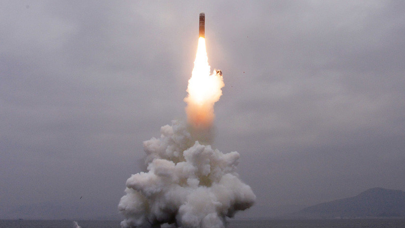 El Pentágono afirma que la reciente prueba de Corea del Norte fue un misil de corto o medio alcance lanzado desde una plataforma marina