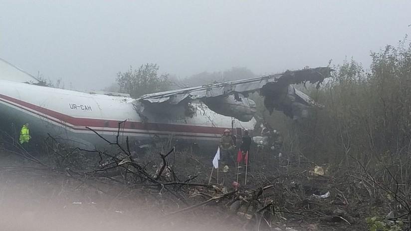 Cinco muertos en Ucrania al estrellarse un avión que volaba desde España y aterrizó de emergencia