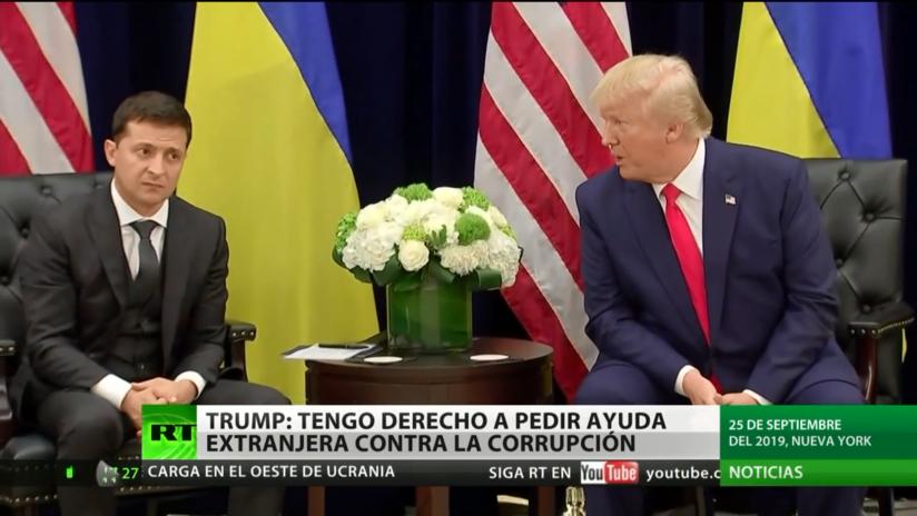 Trump reafirma su derecho a pedir ayuda extranjera en su lucha contra la corrupción