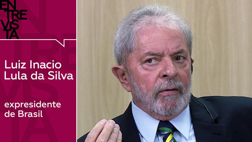 """Lula da Silva, desde la cárcel: """"Con presidentes que estén lamiendo las botas de EE.UU., Brasil no avanzará"""""""