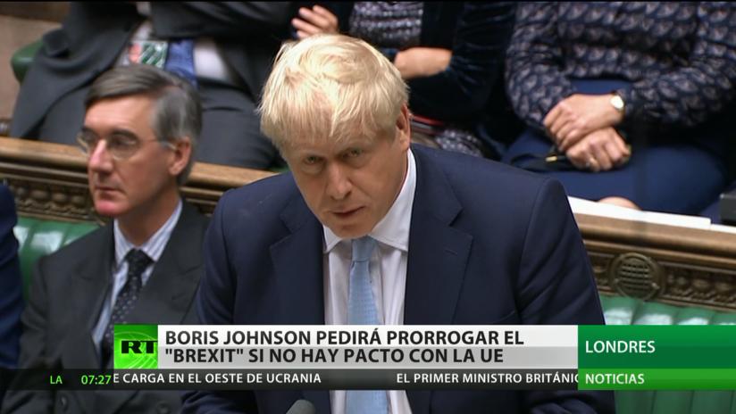Boris Johnson pedirá prorrogar el Brexit si no hay pacto con la UE