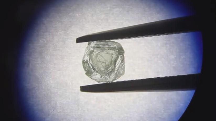 VIDEO: Descubren un diamante 'matrioshka' en el Lejano Oriente de Rusia